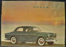 1959-1960 Volvo 122S Catalog Sales Brochure Nice Original