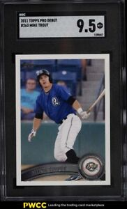 2011 Topps Pro Debut Mike Trout ROOKIE RC #263 SGC 9.5 MINT+