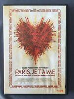 DVD PARIS JE T'AIME Natalie Portman Fanny Ardant Elija Wood Nick Nolte O ASSAYAS