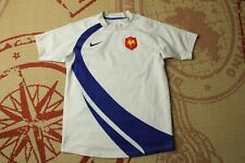 FRANCE NATIONAL TEAM 2007 2008 AWAY RUGBY JERSEY SHIRT NIKE ORIGINAL SIZE S