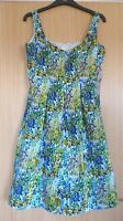 Nine West Ladies Dress US 2 UK 6 New Floral Occasion $134 Fit and Flare Ditsy