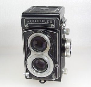 Rolleifiex T Rare White Face TLR, Xenar Lens, Working & Film Tested, SEE DESC