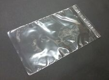 100 Clear 16mil Self Adhesive Resealable Cello Plastic Bags 15 Lip N Tape