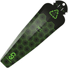 MTB Rear Mudguard Mountain Bike Ass Fender RideGuard Clip On PF2 UK Made Green