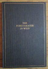 Das Burgtheater in Wien - Rolf Wolkan Eligius Verlag 1926