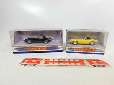 CD320-0,5# 2x Matchbox Dinky 1:43 Jaguar 1967 E Type: DY-1B + DY001/C, NEUW+OVP