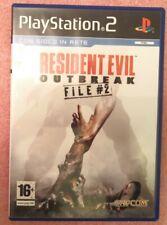 Resident evil outbreak file 2 ps2 in italiano ita pal