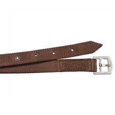 Equiroyal Brown Nylon Stirrup Leathers English tack equine 24-9841