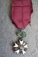 J) Superbe médaille ordre de la couronne Léopold EN REDUCTION Belgique medal