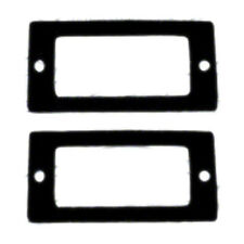 SIDE MARKER GASKET SET; 68 ALL CHEVY CARS [4 PIECES] ALSO 69 NOVA & CHEVROLET