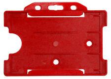Offener Kartenhalter REKO 14, Rot, Polypropylen, für eine Karte