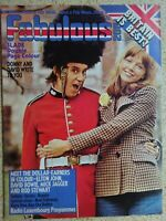Fabulous 208 Magazine.  11th.May 1974...VINTAGE COLLECTABLE MUSIC MAGAZINE.