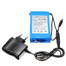 Super Power DC 12V Portable 6800mAh Li-ion Rechargeable Battery Pack + EU Plug !