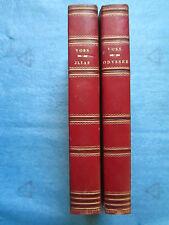 VOSS : HOMER / ILIADE ODYSSEE. Cologne, Francfort, 1807/1808. Cartes et gravures