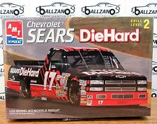 AMT ERTL 8244 Sears DieHard NASCAR chevy Truck #17 BILL SEDGWICK model kit 1/25