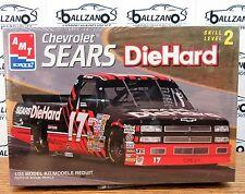 AMT ERTL 8244 Sears DieHard NASCAR chevy Truck #17 BILL SEDGWICK model kit 1/25