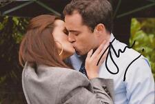 HOLLYOAKS: JOE THOMPSON 'DR. PAUL BROWNING' SIGNED 6x4 ACTION PHOTO+COA