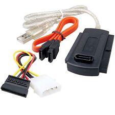 CAVO ADATTATORE USB 2.0 A SATA - IDE 2,5 3,5 PC HARD DISK DRIVE HD CONVERTITORE