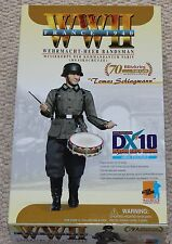 "Dragon Action Figure ww11 dx10 Lomas alemán 1/6 12"" Box 70793 hizo Cyber Hot Toy"