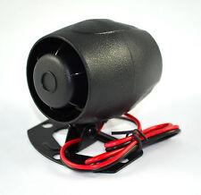 BNIB Universal CAR ALARM or BIKE ALARM 12V SIREN HORN  LOUD 120db + or - trigger