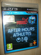 GAME PS3 PLAYSTATION 3 PUMA AFTER HOURS ATHLETES COMPLETELY IN ITALIAN