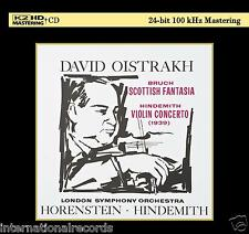 """Bruch: Scottish Fantasia"" David Oistrakh Violin Limited Numbered Japan K2HD CD"