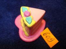 MON PETIT PONEY *my little pony N°609 accessoires - 1 part gateau anniversaire