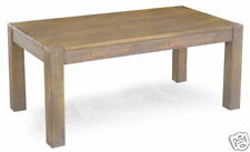 RUSTIC FARM HOUSE 180CM LARGE DINING TABLE | REAL SOLID MANGO WOOD FURNITURE