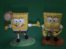 surprises spongebob sponge bob mini figure 6-7 CM anno 2002 usati come nuovi