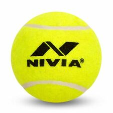 Nivia Yellow Cricket Tennis Ball Light Weight (Pack of 12 Balls)
