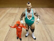 WWE Figure Bundle including 2 x BRODUS CLAY Mini Tyrus GFW Impact Wrestling