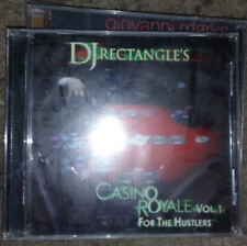 DJ RECTANGLE CASINO ROYALE VOL 1 FOR THE HUSTLERS BRAND NEW SEALED MIX CD
