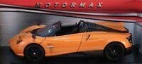 Pagani Huyara, Roadster, Orange, Classic, Metal, Model Car, Motormax 1/24