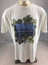 "Nautica Hawaii Maui Surfing ""searching for that perfect wave""  white Tshirt  XL"