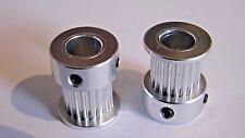 2X GT2 PULLEYS 20 Teeth 8mm bore -10mm belt RepRap , ultimaker 3D printer part