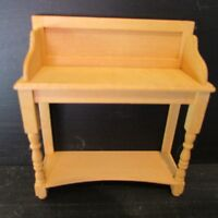 Wash Stand ~ WOODEN ~ Doll House Miniature ~ 1/12th scale
