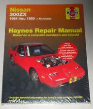 Reparaturanleitung Nissan 300 ZX (Typ Z31), Baujahre 1984 - 1989