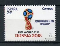 Spain 2018 MNH FIFA World Cup Football Russia 2018 1v Set Soccer Sports Stamps
