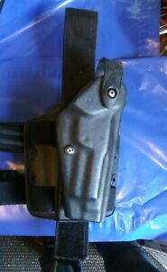 SAFARILAND Beretta 96 92 Drop Leg Holster Black STX 6004 US Navy