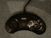 SEGA Mega Drive 6 Button Controller MK 1653 Rare Original Genuine
