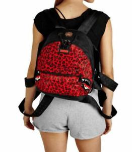 Sprayground 6-Strap Red Leopard Empress Pony Hair Backpack- 910B2277NSZ99000