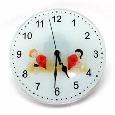 Sublimation Glass Clock 20cm Clear for Heat Press