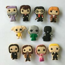 Mixed 50PCS Harry Potter Shoe Charms Shoes Accessories Kids Xmas Gifts