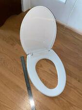New White (Cotton White) Elongated Toto Toilet Seat SS114#01