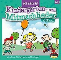 Die Besten Kindergarten- und Mitmachlieder, Vol. 3: Spiele... | CD | Zustand gut