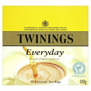 Twinings Everyday Envelope Teabags - 50's