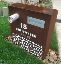 Corten Letterbox Custom Designs