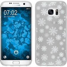 Case für Samsung Galaxy S7 Edge Silikon-Hülle X Mas Weihnachten M2 Case