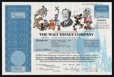 1992 The Walt Disney Company - 10 Shares