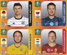 Panini Euro EM Tournament Edition Update Set Sticker Müller   Kleinheisler